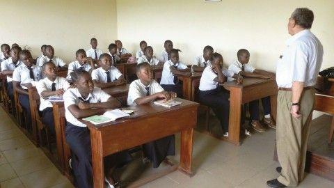 Catechism in a school class