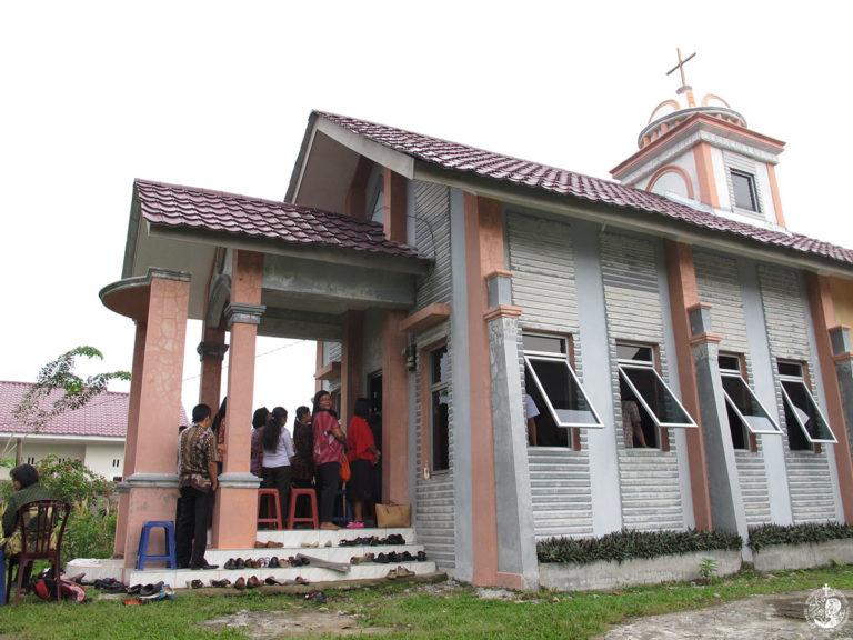 The Dormition of the Theotokos chapel in Medan, Sumatra