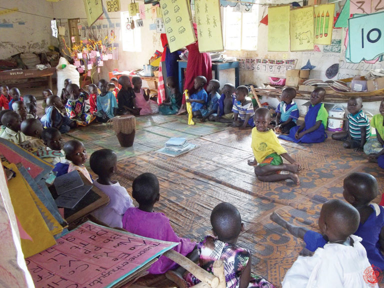 Orthodox kindergarten in Uganda
