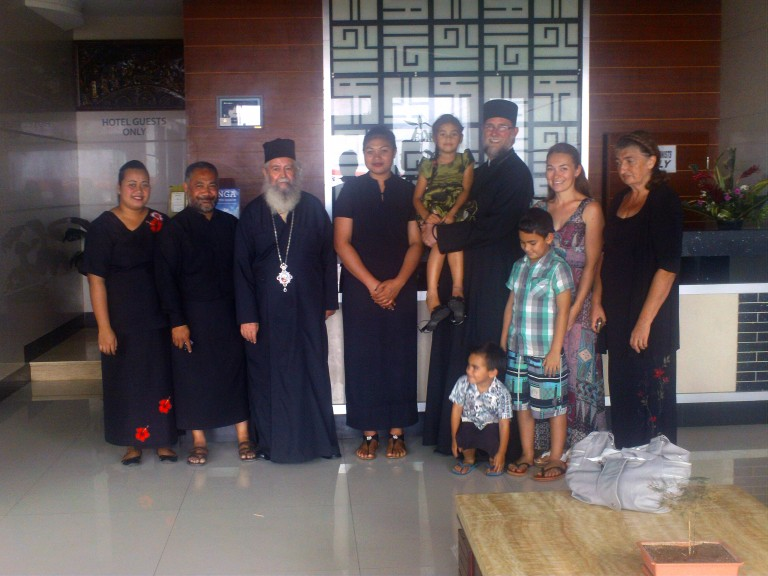 Kingdom of Tonga : Nativity Visit of Orthodox Missionaries to Tonga