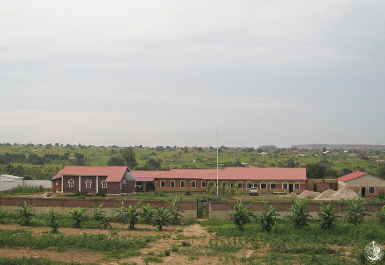 The Holy Apostles monastery in Kolwezi