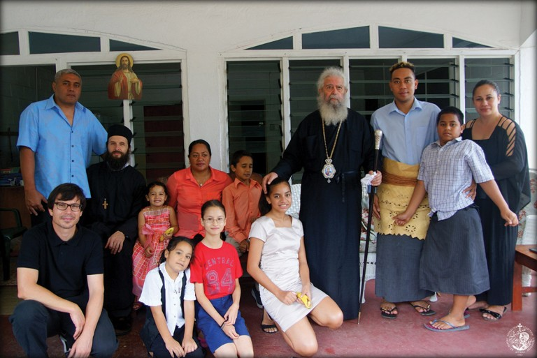 The first group of catechumens in Tonga